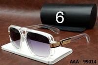 modelos femininos modelagem óculos de sol venda por atacado-99014 de alta qualidade designer de marca de moda masculina de moda óculos de sol modelos femininos estilo retro UV380 Óculos de Sol Unisex com caixa original