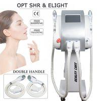 Wholesale salon light hair resale online - New Product SHR OPT epilation machine for hair removal painless ipl light skin treatment elight salon equipment