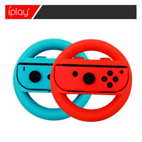 2pcs Steering Wheel Controllers ABS Material Game Switch Controller Joy-con Handle for Nintendo Wheels