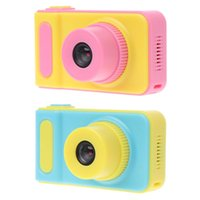 spielzeug digitalkamera mini großhandel-Kinder Kamera Mini Digitalkamera Niedlichen Cartoon Cam 1080 P Kleinkind Spielzeug Kinder Geburtstagsgeschenk 2 Zoll Screen Cam für Kinder