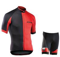ingrosso marche biciclette-2019 NW Marca Quick-Dry Cycling Jersey Set MTB Abbigliamento da bicicletta da strada Traspirante Mountain Bike Abbigliamento ciclismo Set