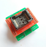 Wholesale ic sockets pin for sale - Group buy Freeshipping ANDK TSOP48 NAND Adapter only for minipro TL866II plus programmer for pin NAND flash chips TSOP48 adapter socket
