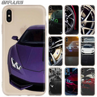 Wholesale pouch for car for sale – best Phone Cases luxury Silicone soft Cover for iPhone XI R X XS Max XR S Plus S SE Coque Sport car super car