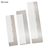 ingrosso pasti d'amore-Lei Love Diamond Embroidery Paste Sticker Punteggiatura Strass Point Anti-stick Drilling Ruler Tools DIY