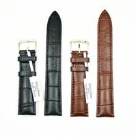 ingrosso braccialetto bianco nero rosso-Prezzi all'ingrosso di vendita caldi moda multi colore slub in rilievo classico cinturino in vera pelle cinturino in bambù modello 14mm-24mm