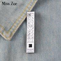 alte broschen großhandel-Photoshop Toolbar Emaille Pin Abzeichen Brosche Revers Pin Denim Jeans Hemd Tasche Old School Toolbar Schmuck Geschenk für Designer Freunde