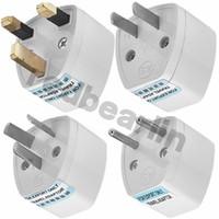 Wholesale global travel adapter for sale - Group buy global travel adapter Plug Outlet Worldwide V AC Adaptor Socket in US EU AU UK Power adaptor Converter