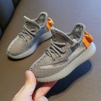 frauen weiße leinwand tennisschuhe groihandel-Kinderschuhe Sneakers Kleinkind Kanye West Run Schuhe Baby-Baby-Kind-Jugend-Jungen und Mädchen Chaussures pour enfants
