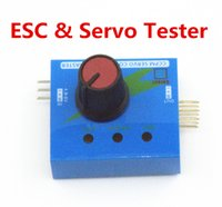 Wholesale esc for helicopter resale online - 2019 Hot Sale ESC CCPM Servo Consistency Master Tester for rc aircraft helicopter car airplane meter
