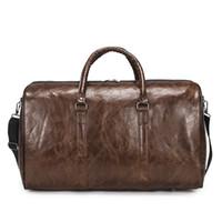 bolsa de viaje multi al por mayor-Diseñador monedero de los bolsos de las mujeres bolsa de viaje bolsa de lona del cuero del equipaje bolsos de gimnasia de los hombres bolsa de deporte 6 Estilo