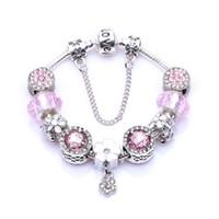 Mariposa madre hija Cristal Corazón Amor encantos perlas encajan chamilia pulseras