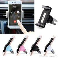 cep telefonları için araba beşiği toptan satış-Universal Araç Hava Firar Telefon Dağı Cradle Cep Telefonu Tutucu GPS Tutucu 231