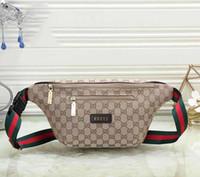 ingrosso cinture calde-Designer Marsupio Donna Borsa di lusso Mens Fannypack Designer Borsa a tracolla Unisex New Fashion Luxury Belt Bag Vendita calda # 0504