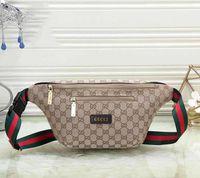 Wholesale mens waist belt bag resale online - Designer Waist Bag Womens Luxury Handbag Mens Fannypack Designer Chest Bag Unisex New Fashion Luxury Belt Bag Hot Sale