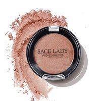brilho alaranjado venda por atacado-Hot venda 1 Pcs Brilhante Blush suave Face Maquiagem Contour Laranja Rosa Blush