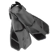 tren talón al por mayor-Aletas de natación Snorkel Aleta de entrenamiento flotante con aletas para flotar con talón ajustable para nadar Buceo Deportes acuáticos