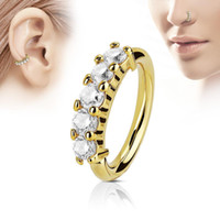 Wholesale nose piercing diamond stud for sale - Group buy Piercing Zircon Crystal Diamond Nose Stud Body Jewelry Nose Ring Bar Helix Cartilage Earring Stud