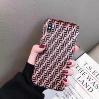 housse d'hiver iphone achat en gros de-Coque YunRT Hot Winter Plush pour iPhone X XR XS Coque de Design Logo F de Luxe F pour iPhone 6 6S 7 8 plus couverture arrière