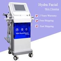 yüz bakım ekipmanları toptan satış-9 IN 1 hydrafacial cilt temizleme makinesi yüz liting hidro yüz cilt bakımı güzellik ekipmanları ücretsiz kargo