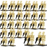 ensembles de jouets de l'armée achat en gros de-100 pcs en gros guerres spatiales bataille droïde armée figure modèle ensemble blocs de construction kits brique éducation starwars jouets pour enfants SH190910