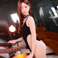 Wholesale realistic adult love doll resale online - 2019 New arrival cm Japanese sex doll love doll realistic vagina skinny body pussy sex doll for adult man