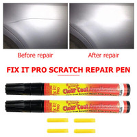 Wholesale touch up painting for sale - Group buy 3pcs Car Styling Portable Fix It Pro Clear Car Scratch Repair Remover Pen Auto Body Coat Applicator Touch Up Painting Pen Tool
