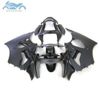 Wholesale kawasaki zx6r fairings parts for sale - ABS fairings kit for KAWASAKI ninja ZX6R black ZX R body fairing parts