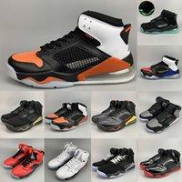 sapatos de basquete de estilo superior venda por atacado-2020 Mars Air Shoes Almofada Basquetebol TOP 3 QS Infrared 23 Citrus quebrados encosto PSG Paris Mix 1s 4s 5s 6s Estilo Sports Sapatilhas