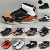 топ-стиль баскетбольная обувь оптовых-2020 Марс воздушной подушке Баскетбол обувь TOP 3 QS Инфракрасная 23 Citrus Разрушенные Backboard PSG Paris Mix 1s 4s 5s 6s Стиль Спортивные кроссовки
