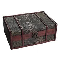 Wholesale small card boxes for sale - Group buy Treasure Box inch Grape Small Trunk Box for Jewelry Storage Treasure Cards Collection Gift Box Gifts and Home