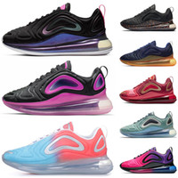 paquete de voltios al por mayor-Nike air max 720 hombre mujer Sunrise Volt Obsidian Easter Pack Sunset Zapatillas de deporte para hombre mujer TPU New Sports sneakers runner