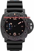 Wholesale best fiber resale online - 8 Style Topselling Best Quality Top Maker CAL P9000 P9001 Movement mm mm Carbon Fiber Bronze Transparent Automatic Mens Watch Watches
