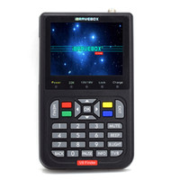 Wholesale satellite signal meter finder resale online - V8 Finder Meter SatFinder Digital Satellite Finder DVB S S2 HD P Receptor TV Signal Receiver Sat Decoder Location Finder