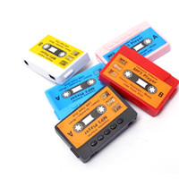Wholesale Hot Sale High quality mini Tape MP3 Player support Micro SD TF card colors DHL Cheapest