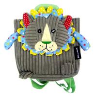 Wholesale cream school bags for sale - Group buy corduroy Toddler Backpack Kids baby bag Mini Cartoon Schoolbag Children School Bags for kindergarten Girls Boys sac a dos enfant