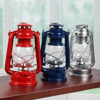 lanternas clássicas venda por atacado-Retro Clássico Lâmpada de Querosene Lanternas de Querosene Pavio luzes de Acampamento Ao Ar Livre Portátil de Acampamento de Emergência lâmpada de Emergência Decoração de Casa