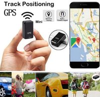 Wholesale sos cell phones resale online - Mini GF GPS Long Standby Magnetic With SOS Tracking Device Locator For Vehicle Car Person Pet Location Tracker System