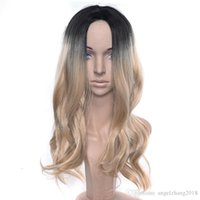 Wholesale synthetic kinky curly hair weave for sale - Group buy Women Jerry Curly Wigs High Quality Synthetic Hair Weaving Middle Bangs Kinky Curly Headwear Top Hair Density Heart Resistant Wigs