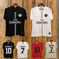 1ec11c3e37f Wholesale paris saint germain jersey for sale - Thailand maillots PSG  soccer jersey Paris rd third