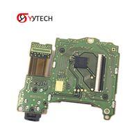 reparar placas base al por mayor-Nueva ranura para la tarjeta de juego SYYTECH con placa base para auriculares Piezas de repuesto de reparación Consola de juego Ranura para zócalo de la tarjeta de juego Para Nintendo Switch NS