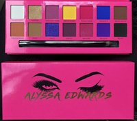 Wholesale brand makeup factory for sale - Group buy Factory Direct DHL New Makeup Eyes Hot Brand Alyssa Edwards Eyeshadow Palette Colors Eye Shadow
