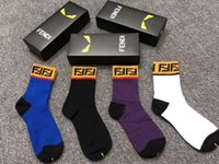 Wholesale quick hose resale online - New style men s and women s socks hot style medium hose classic fabric sweat absorption breathable imitation odor comfortable high