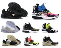 Wholesale boxes for sale - Group buy 2019 Presto Mid Acronym X Racer Men Women Running Shoes Darts Street Designer Shoes Camouflage Graffiti Casual Trainers With Box Cheap