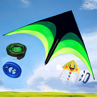 Wholesale wheel flying toy resale online - 160cm Super Huge Kite Line Stunt Kids Kites Toys Kite Flying Long Tail A Random Parent Child Kite is Given