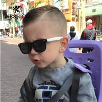 Wholesale brand sunglasses for kids resale online - Sunglasses Kids Polarized Children Classic Brand Designer Eyeglasses Rivet TAC TR90 Flexible Safety Frame Shades For Boy Girl