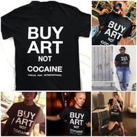 kunst kaufen großhandel-HAHAYULE-JBH Kaufen Sie Kunst-nicht-Tumblr-Mode-Schwarzes Schmutz-T-Shirt Hipsters-Slogan-T-Stück