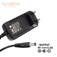 Wholesale adapter for guitar for sale - Group buy NAOMI Power Supply Charger V A EU Power Supply Adapter Charger Black For Guitar Effects Pedal EU Plug Guitar Accessories