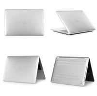 apfel macbook luft china großhandel-Kunststoff Hartschalen Hülle [Metall] Für Apple Macbook Air Pro Retina 11,6