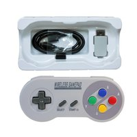 Wholesale gaming controller accessories resale online - MASiKEN GHZ Wireless Controller Gaming Joystick Joypad Gamepad for NES SNES Super Classic MINI Game Accessories