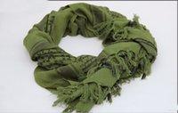 bufanda militar arabe al por mayor-100% algodón grueso Hijab musulmán de Shemagh táctico desierto árabe bufanda bufandas de invierno de los hombres árabes militar a prueba de viento de la bufanda